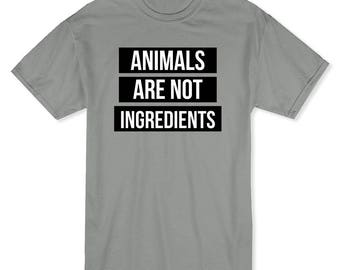Animals Are Not Ingredients Men's T-shirt