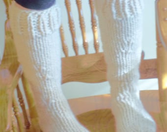 Hand Knit Extra Thick Socks - Boot Liners