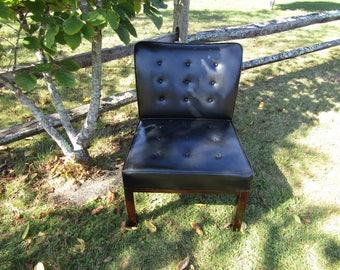 Mid Century Modern Ed Wormley Slipper Chair for Dunbar