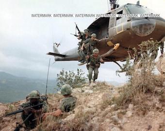 "8 x 10"" Photo From Viet Nam War"