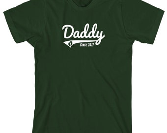 Daddy Since 2017 Shirt - daddy, fathers day, christmas gift idea - ID: 1772