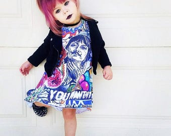 Graffiti Tshirt jurk