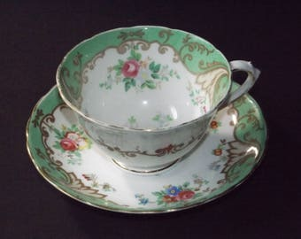 Vintage Tuscan tea cup and saucer  #12122017