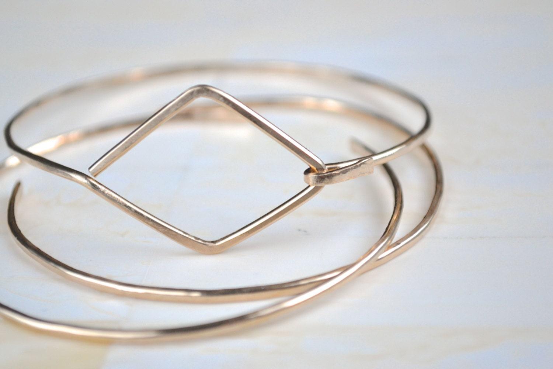 Bangle Bracelet Gold Bangle Simple Gold Bracelet Simple Gold