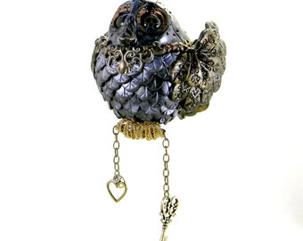 Steampunk Bird Ornament