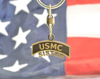 USMC Sister Key Chain