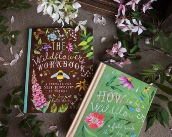 GIFT SET | Wildflower Book and Guided Journal | by Katie Daisy