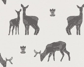 Designed Fabric, cotton, minky, leatherette, canvas, deer