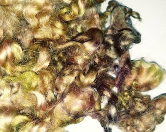 Teeswater Locks - Curls - Hand Dyed Locks - Spinning - Doll Hair - Felting - Wool Locks - Troll Hair - Lockspun - My Super Heroes - Locks