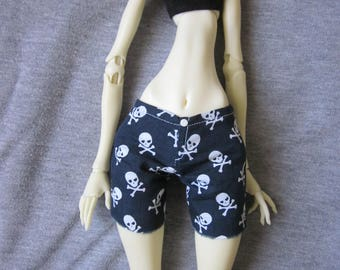 Pants for doll Chateau BJD doll in MSD, 1/4 size