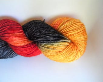 King of the Pumpkin Patch Stellina Sock Yarn