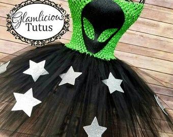Alien Galaxy tutu dress | Alien tutu dress | Alien Halloween costume | Alien | UFO | Galaxy