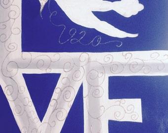 Zeta Phi Beta 'Love' art three