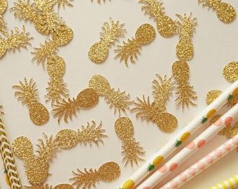 Pineapple Glitter Confetti, Pineapple Confetti, Party Decorations, Party Decor, Summer Party Decor, Birthday Party, Confetti