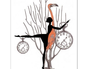 """What Time is it 4 - ART Print 8 x 10"""""""