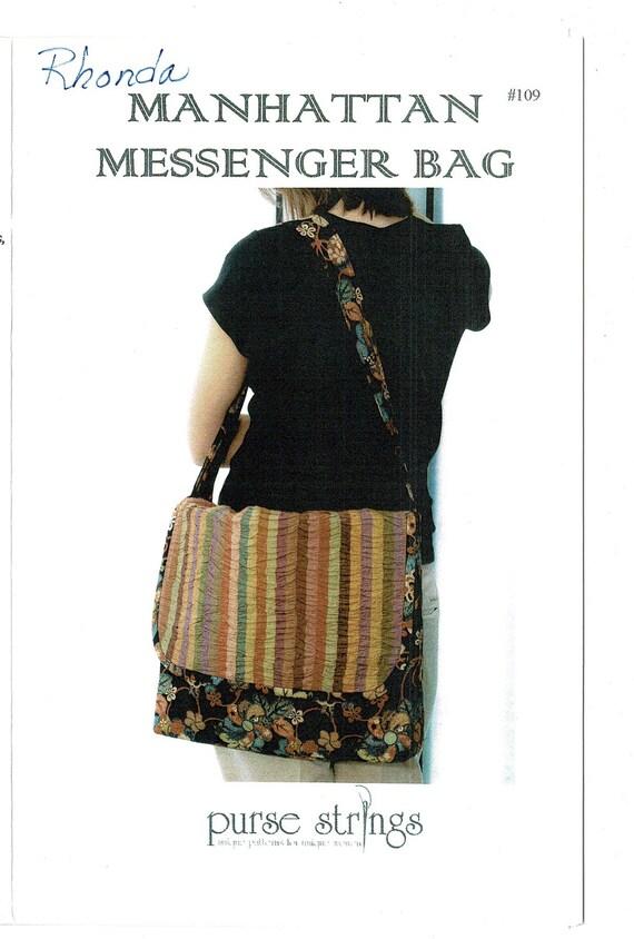 Messenger Bag Sewing Pattern, 13\