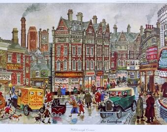 George Cunningham Hillsborough Corner Print
