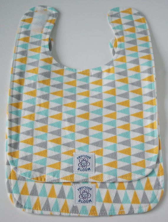 So Soft Organic Large Reversible Bibs (Set of 2)