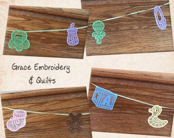 Lace Baby Banner