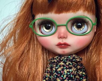 Henrietta - Custom Blythe Art Doll by Blythe & Shine! OOAK. Red Hair.