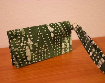 Wrist Wallet - Emerald Green