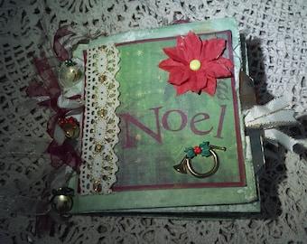 Handmade Christmas Paperbag Album