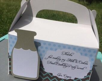 Milk & Cookies Favor Boxes (10)