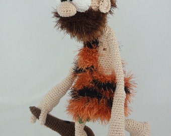 Amigurumi Crochet Pattern - Clifford the Caveman - English Version