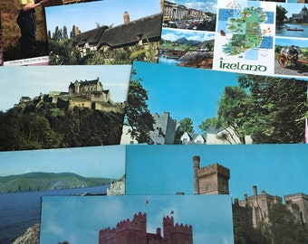 Vintage postcards of Ireland, Paper, Ephemera