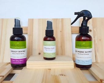 Dog Grooming Organic Natural Pet Care / Gift Set