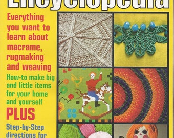 Vintage McCall's Macrame Rugmaking & Weaving Encyclopedia Vol. 3 book - 1978