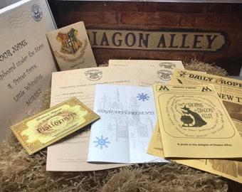 Harry Potter Hogwarts Acceptance Letter - Mega Bundle - Personalised