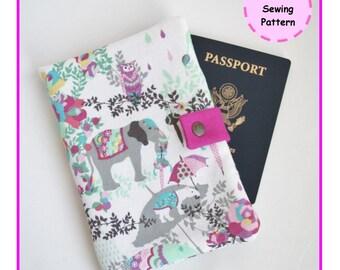 PDF Travel Organizer -  Sewing Pattern - Zakka - Instant Download