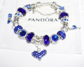 A Star In Blue    - Authentic Jared Pandora bracelet