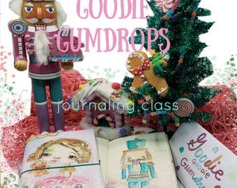 Goodie Gumdrops - online journaling art class