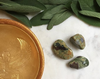 Set of 3 Rainforest Jasper