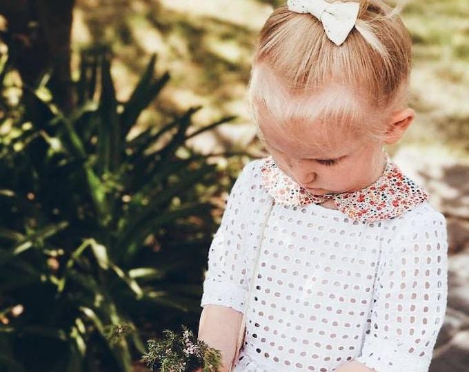 LIBERTY PETER PAN style Collar Liberty Art Fabric Collar Peter pan Collar Phoebe Children and Women's sizes