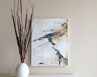 "Original Abstract Acrylic Painting - 14"" x 18"""
