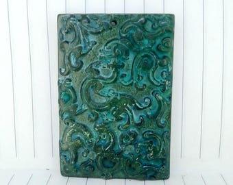 Antiqued Jade Pendant Ancient Chinese legends Loong Drsgon Amulet Antique Design Talisman