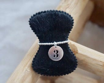 Ring number 925 sterling silver