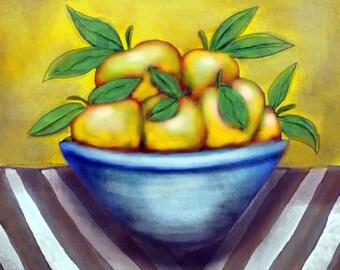 10 Fruit in a Bowl Mix 'n Match - Digital Download File