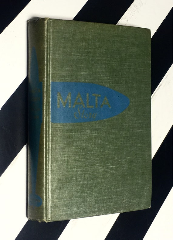 Malta Story by W. L. River (1943) hardcover book