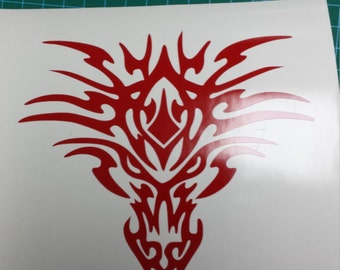 Dragon Head Decal