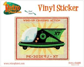 Patrol Craft XT Toy Art Lunastrella Vinyl Sticker - #64406