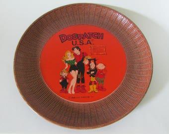 Vintage  Dogpatch USA Lil' Abner Serving Tray Platter by Capp Enterprises-1968