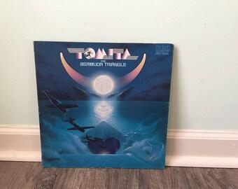 """Tomita """"The Bermuda Triangle"""" vinyl record"""