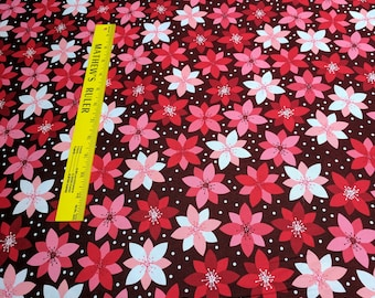Retro Christmas Cotton Fabric from Robert Kaufman Fabrics