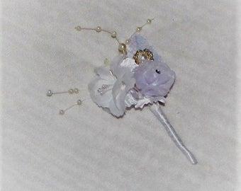 Wedding boutonniere groom boutonniere pearl boutonniere rhinestone flower boutonniere bestman boutonniere wedding flowers boutonniere