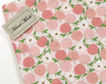 Double Gauze Fabric Peach By The Yard