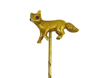 Fox Stick Pin